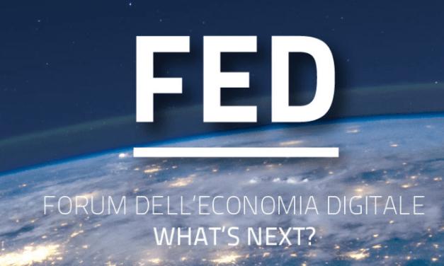 Domani il Forum dell'Economia Digitale