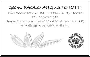 IOTTI PAOLO Biglietto da visita