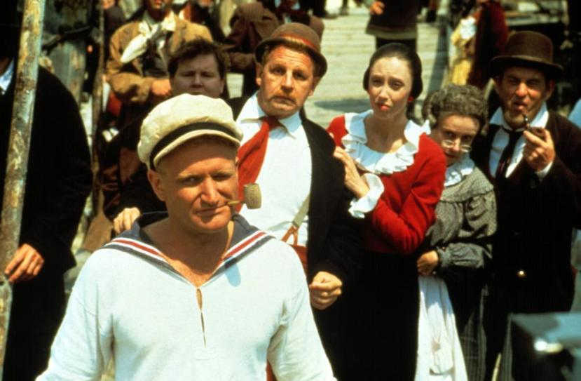 POPEYE, Robin Williams, Paul Dooley, Shelley Duvall, 1980, (c) Paramount