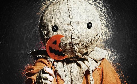Pumpkin Head Sam Trick-r-treat