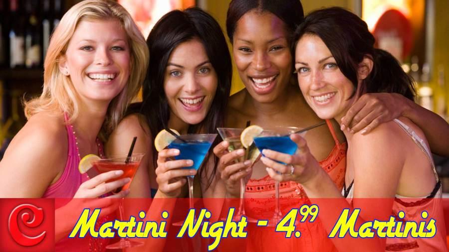 4.99 Martini Night