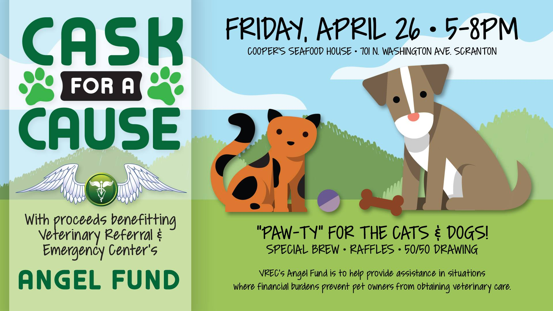 Cask for a Cause – Benefitting VREC's Angel Fund