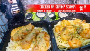 Shrimp and Chicken Scampi