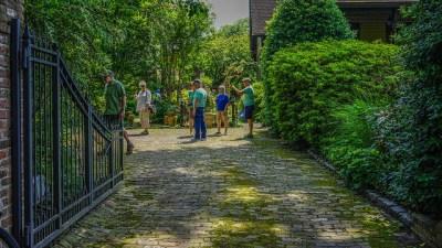 randle's garden visitors (Tim Wheat pic)
