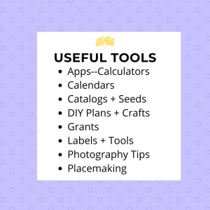 useful tool resources