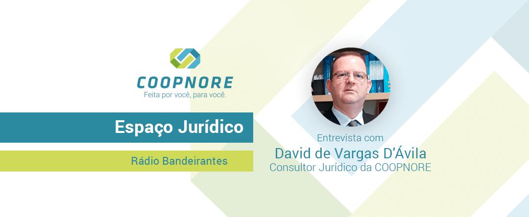 Espaço Jurídico – Entrevista com David de Vargas D'Ávila