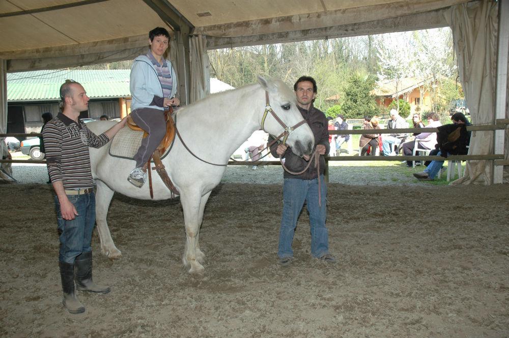 Laboratorio sport and fitness a cavallo