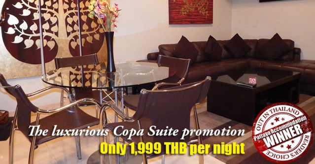 copa hotel pattaya copa suite promotion