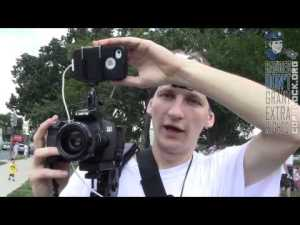 Luke Rudkowski's Camera Rig