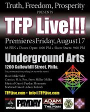 Philly Benefit for Ademo: TFP LIVE!!! to Feature Comedy/Music/Interview