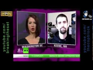 Ian Freeman Discusses Police Interactions with Abby Martin on RT's Breaking the Set