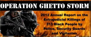 Operation Ghetto Storm: 2012 Annual Report on the Extrajudicial Killings of 313 Black People by Police, Security Guards, and Vigilantes