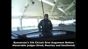 Rick Rynearson Takes Illegal Checkpoint Detention to Fifth Circuit