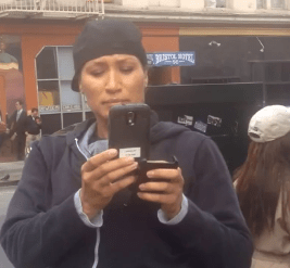 San Fran Undercovers Stare Down Woman For ???