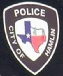 Hamlin TX Police Dept patch