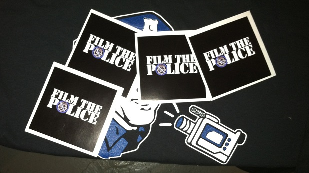 Film the Police Stickers
