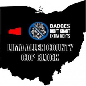 Lima-Allen County Cop Block logo