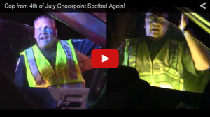 (VIDEO) Driver from Viral 4th of July Checkpoint Stop Encounters Deputy Again, This Time on His Best Behavior