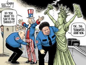 TSA Trading Liberty for Security