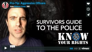 'Survivor's Guide to America' Pro-Tip: Aggressive Officers