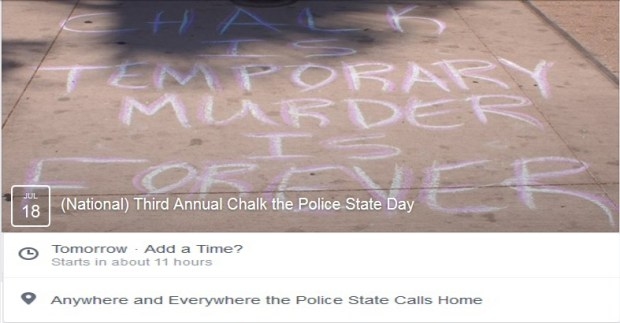 Chalk Police State National