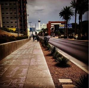 Chalk Protest Las Vegas