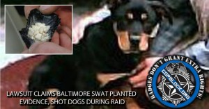 Lawsuit Claims Baltimore SWAT Planted Evidence, Shot Dogs During Raid
