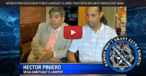 Worcester Excessive Force Lawsuit Claims Two Officers Beat Innocent Man