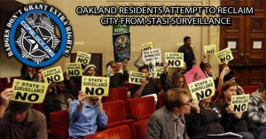 Oakland Residents Attempt To Reclaim City From Stasi Surveillance