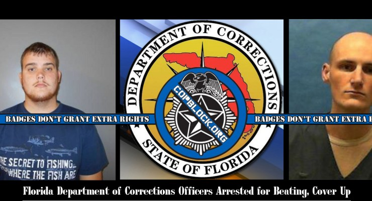 Florida Department of Corrections Officers Arrested for