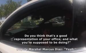 Vegas Deputy Marshal Marcus Diaz