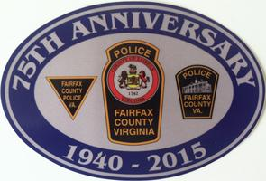 FCPD 75th anniversary logo