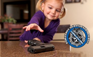 Five Year Old Finds North Carolina SBI Agent's Gun in Public Bathroom