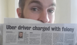 "Uber Driver Arrested for Felony ""Wiretapping"""