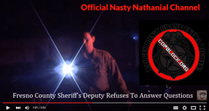 Fresno County Sheriff's Deputy Refuses To Answer Questions