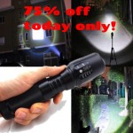 Attention people! The G700 Flashlight is indestructible and the brightest light you have EVER seen. 75% OFF LIMITED time only!! CLICK GRAPHIC NOW!