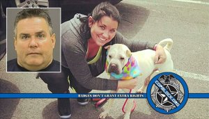 Cop Acquitted After Slitting Dog's Throat To Receive $45K In Back Pay