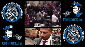 Time Photographer Assaulted And Choked by Secret Service Agent During Trump Rally