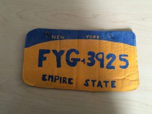 Erie Sheriffs Make Arrest of the Year; Catch Cardboard License Plate Bandit