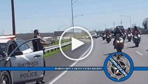 No Suspension For Texas Cop Filmed Pepper-Spraying Bikers On Highway