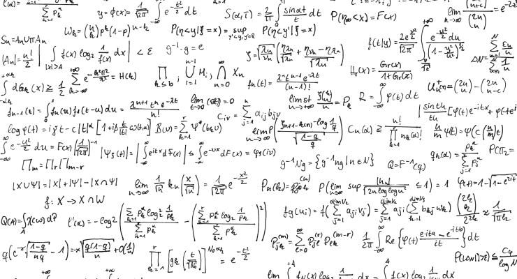 Math Equations Mistaken for Terrorist Plot | Cop Block