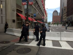 Cleveland Police STEAL Backpacks From CopBlock.org Contributors at RNC