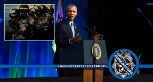 Obama Pushes For Greater Federal Control Of Police Following Shootings
