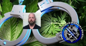 Oklahoma Police Officer Roy Collinsworth Arrested for Running a Giant Marijauna Grow Operation.