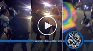 Video Shows Cop Violently Shove 16-Year-Old Girl