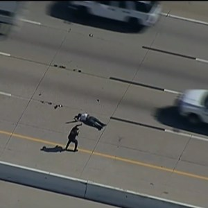 Deputy Deploys Taser in Middle of Highway – Man Nearly Run Over