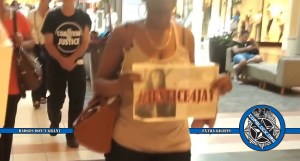 Protest of Jay Anderson Murder by Wauwatosa Police At Mayfair Mall, Milwaukee in 2016