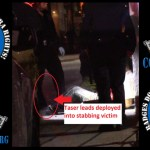 LAPD Police Officers Taser Man Who Was Already Stabbed Twice