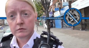 London Metropolitan Police Constables Claim You Need Permission to Film Specific Individuals in Public