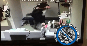 Video Shows Pennsylvania Police Officer Punching, Choking, and Tazing Inmate Shackled to Bench